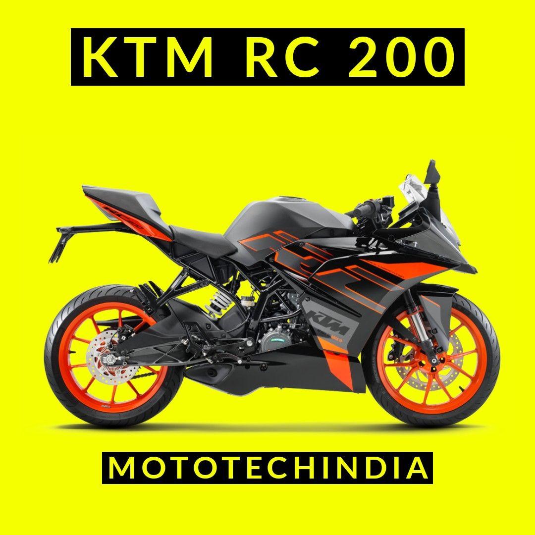 KTM RC 125 in 2020 Ktm rc, Ktm, Cool bikes