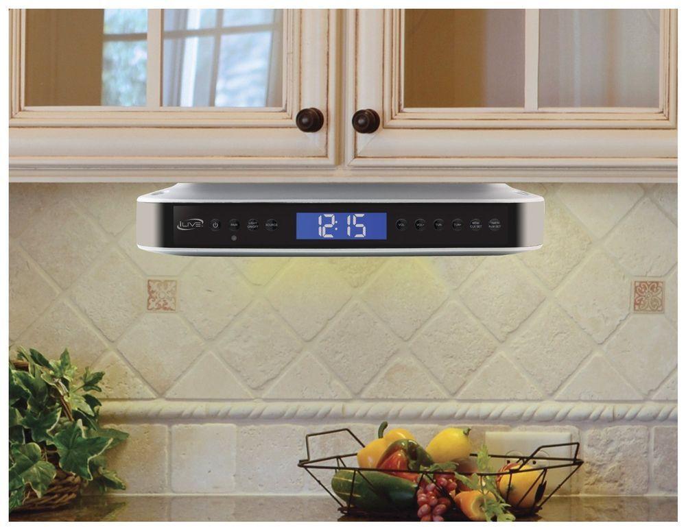 Kitchen Under Cabinet Radio Bluetooth
