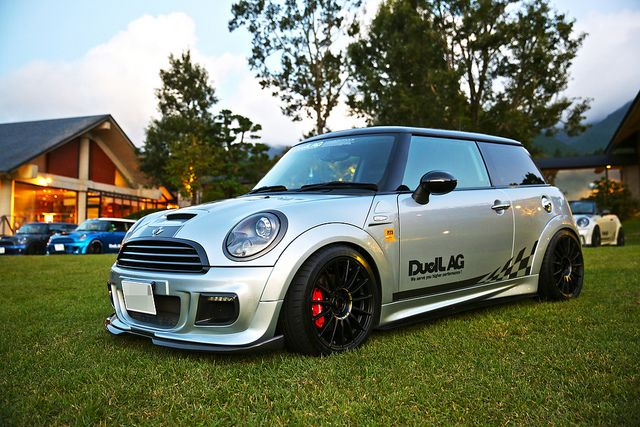 "Superturismo LM23 17"" (Special Edition for Duell AG) on Mini Cooper S JCW by Duell AG from Japan #OZRACING #RACING #SUPERTURISMO #LM #RIM #WHEEL"