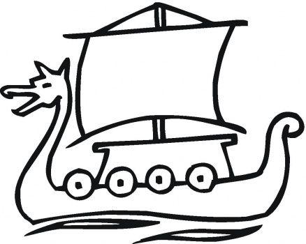dragon longboat | art | Pinterest | Barco vikingo, Barcos y Vikingos