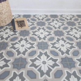 Vinyl Flooring Cornflower Beige And Blue Floral Country Cottage Floor Tile Design Vinyl Flooring Kitchen Cushioned Vinyl Flooring Vinyl Flooring Bathroom