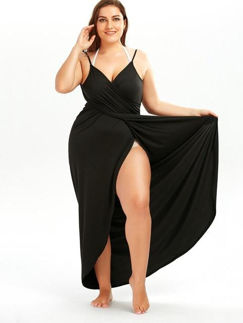 5bf1506e0c9ed Cs517 | Hot..... | Dresses, Plus size beach, Wrap dress