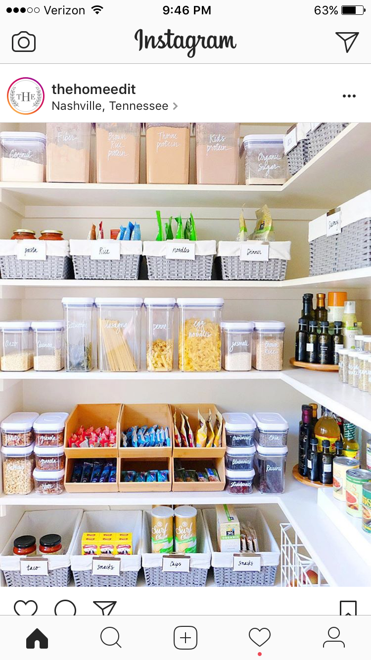 Pin de Joanna Loiselle en New house - pantry | Pinterest