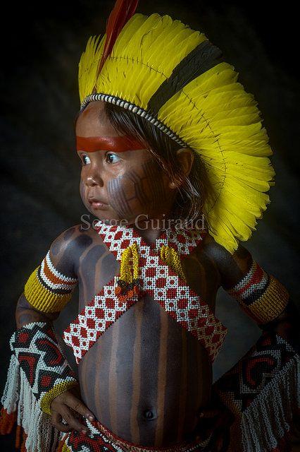 Kayapo Child . Amazon