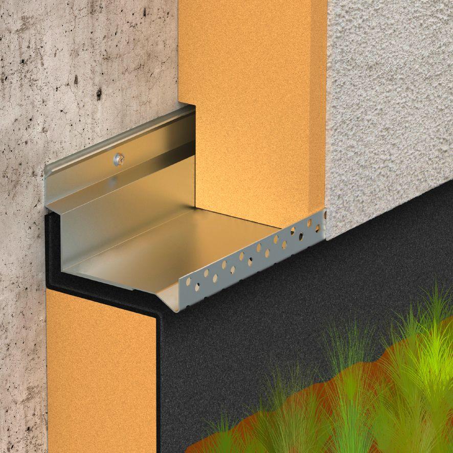 Isolation thermique par lu0027extérieur pour une maison des années 60