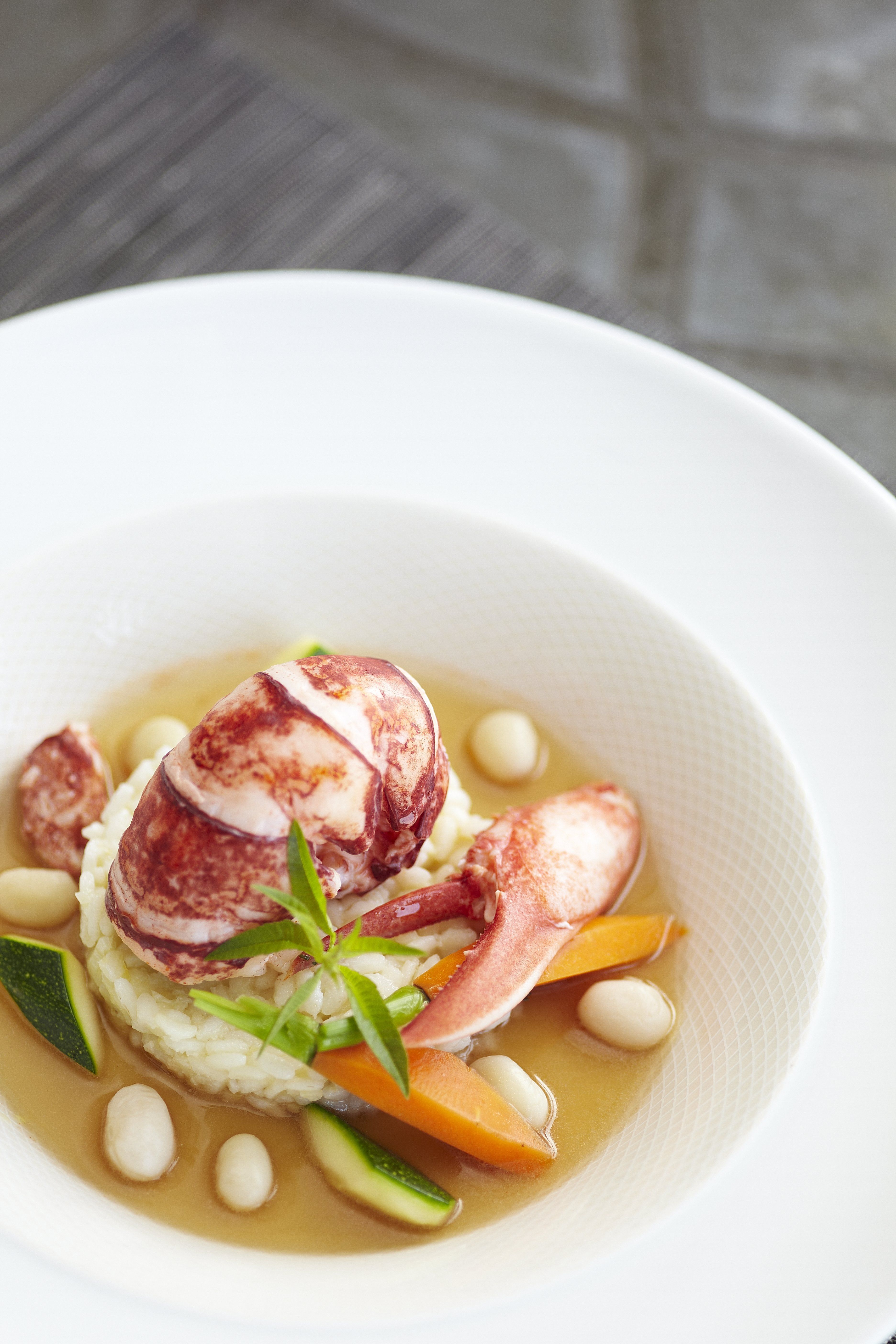 Plat gastronomique marin cr dit a lamoureux gastronomie food pinterest plat - Recette plat gastronomique ...