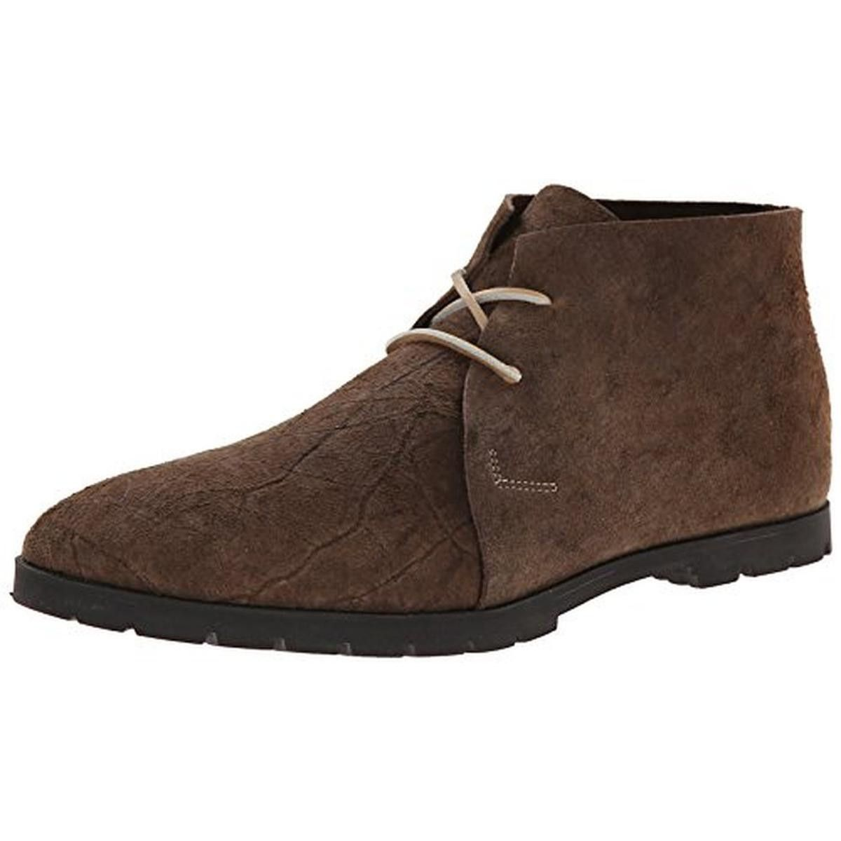 Mens Lane Suede Distressed Chukka Boots   Products and Boots