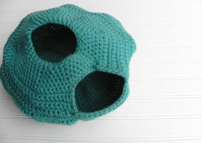 Cat Cave Crochet Pattern Release   Knot By Gran\'ma   Crochet- Pets ...