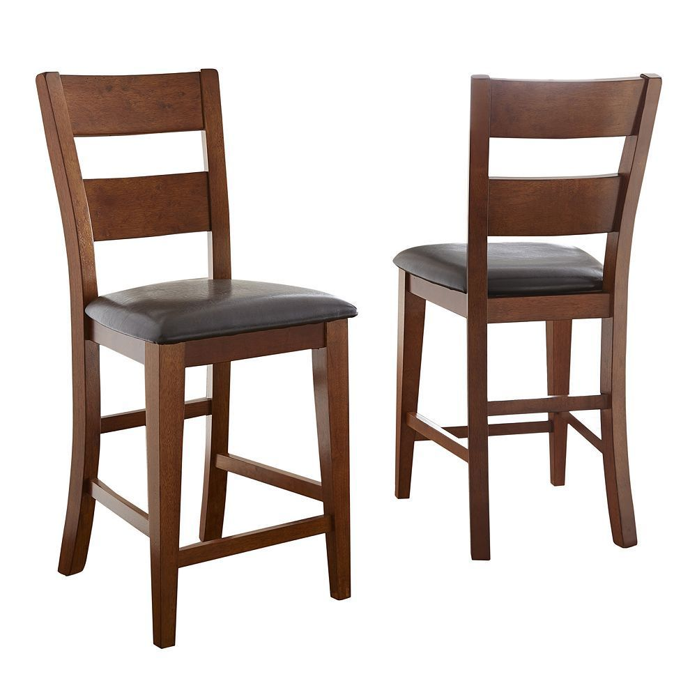 2-Piece Mango Counter Chair Set, Other Clrs