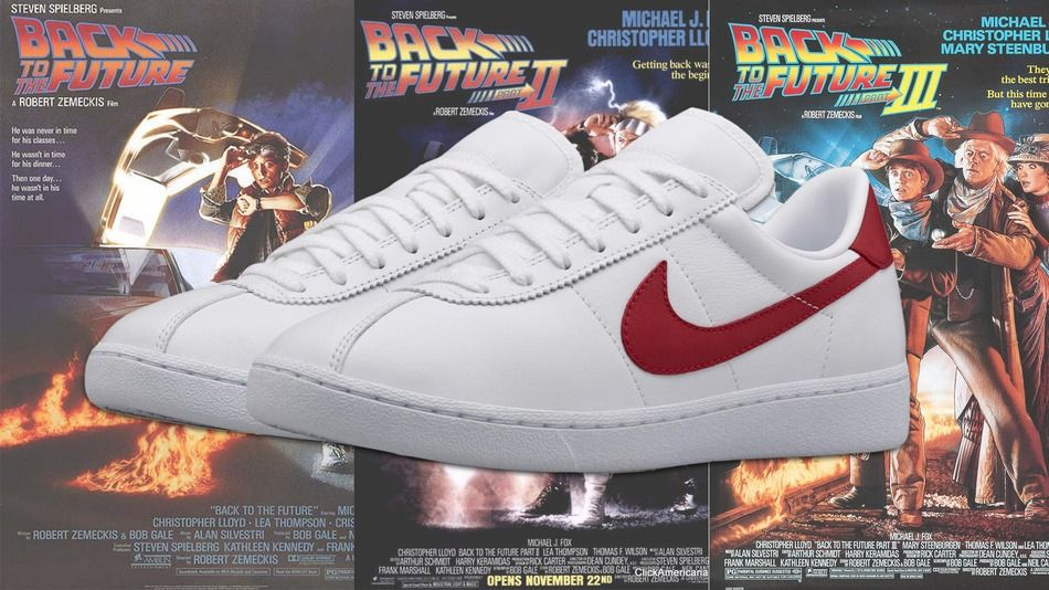 Nike is releasing NikeLab Bruin Leather sneakers similar to the ones that McFly wore in Back to the Future