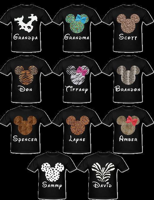 Animal Kingdom Christmas Shirt.Animal Print Mickey Heads For Animal Kingdom Disney