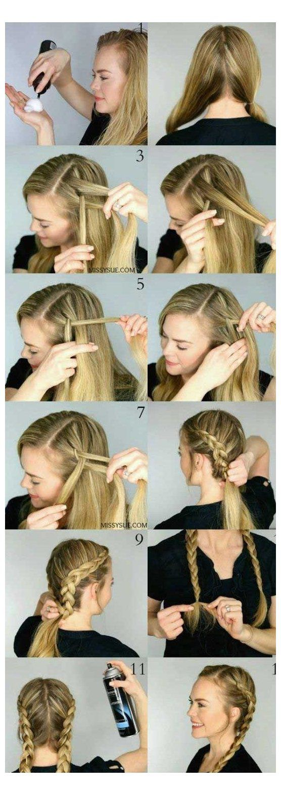 Long Hair Dont Care A Wonderful Long Hair Style For Wedding And Prom Steal Her 698522 Prom Hairstyle In 2020 Braided Hairstyles Hair Styles Braids For Long Hair