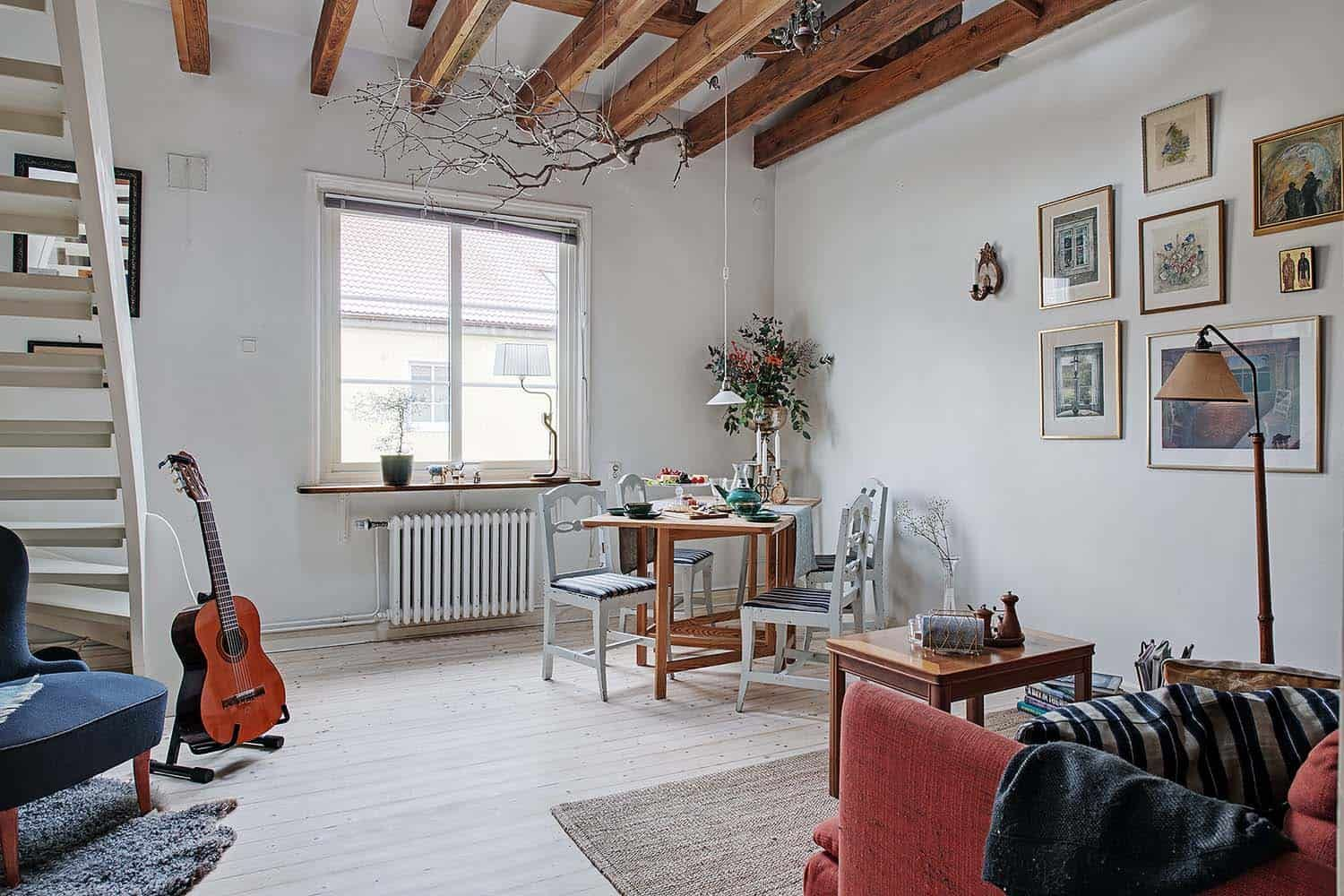 Charming onebedroom duplex apartment with cozy layout in