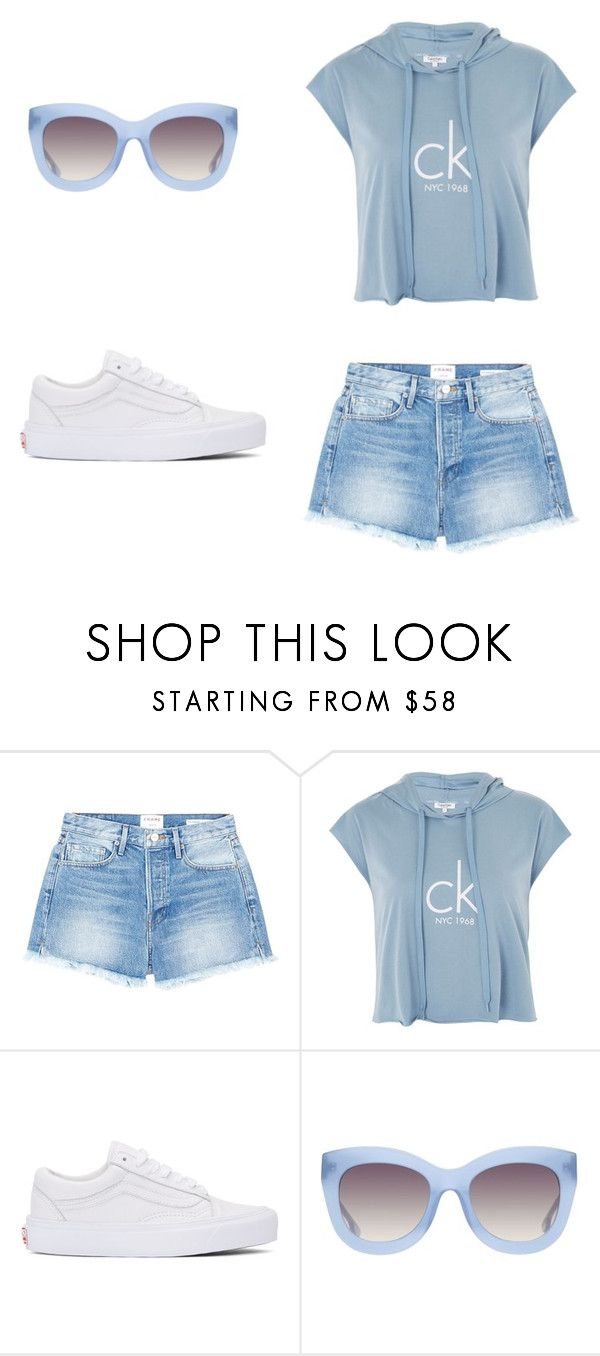 """""""Untitled #3906"""" by buenmalicdem on Polyvore featuring Frame, Calvin Klein, Vans and Alice + Olivia"""