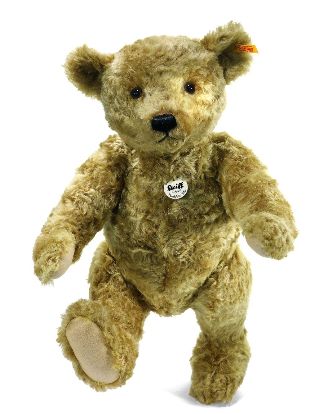 Steiff Classic 1920 Teddy Bear: Mohair Stuffed Bear