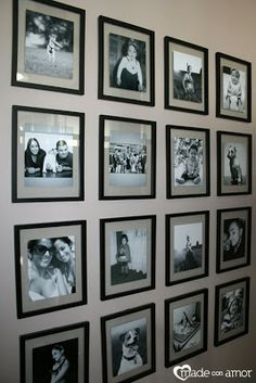 582c1c1fa78f photo.gallery wall.floating.frames. - Google Search
