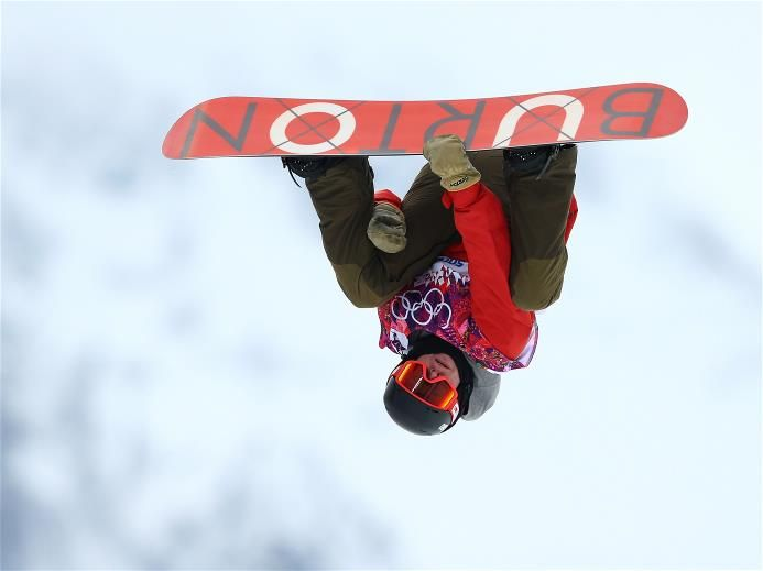 DAY 5: Christian Haller of Switzerland competes in the Snowboard Men's Halfpipe Qualification