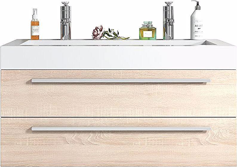 Armoires De Salle De Bain In 2020 With Images Bathroom Vanity Units Diy Dresser Dresser Vanity