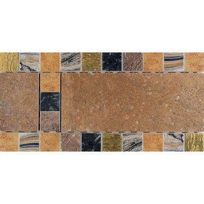 Tile Decorative Accents Terra Antica Bruno 6 Inx 12 Inporcelain Decorative Accent