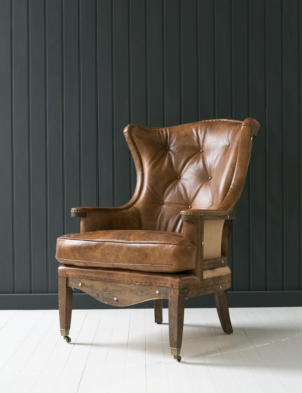 Deconstructed Wingchair at Rose and Grey Modern accent