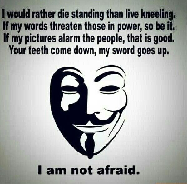 I Have No Fear