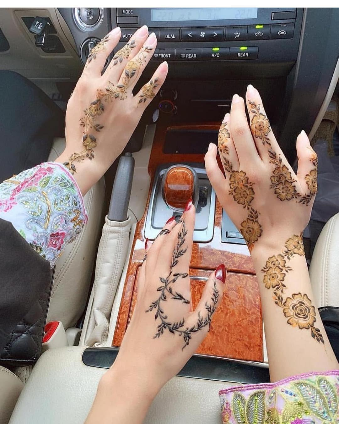 نقش حنا 7ena Hana On Instagram 7enna 7ena 7enaaat نقش نقشات ح Simple Henna Tattoo Latest Henna Designs Henna Tattoo Designs