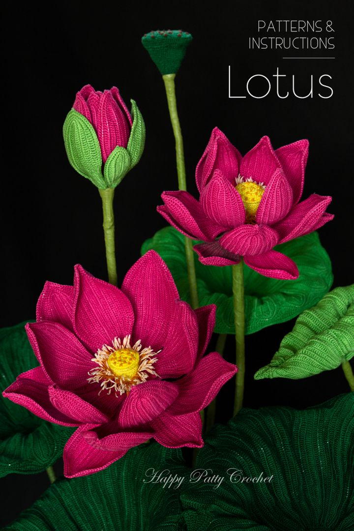 Crochet A Beautiful And Elegant Sacred Lotus Commonly Known As