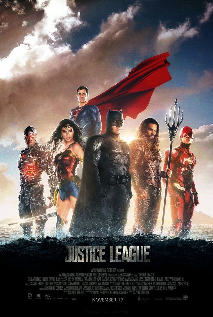 Justice League 2017 Poster 2 By Camw1n Justice League 2017 Justice League Full Movie Justice League