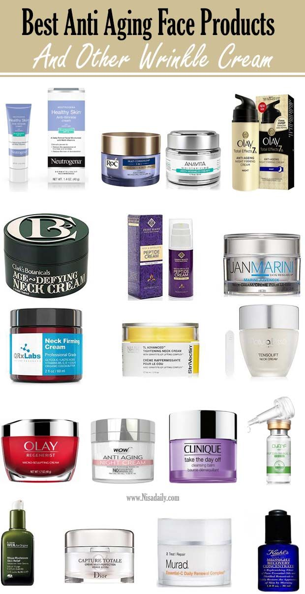 Best Anti Aging Skincare 30s Products And Wrinkle Cream That Work With Essential Oils Antiagings Neck Cream Firming Anti Aging Skin Products Anti Aging Face