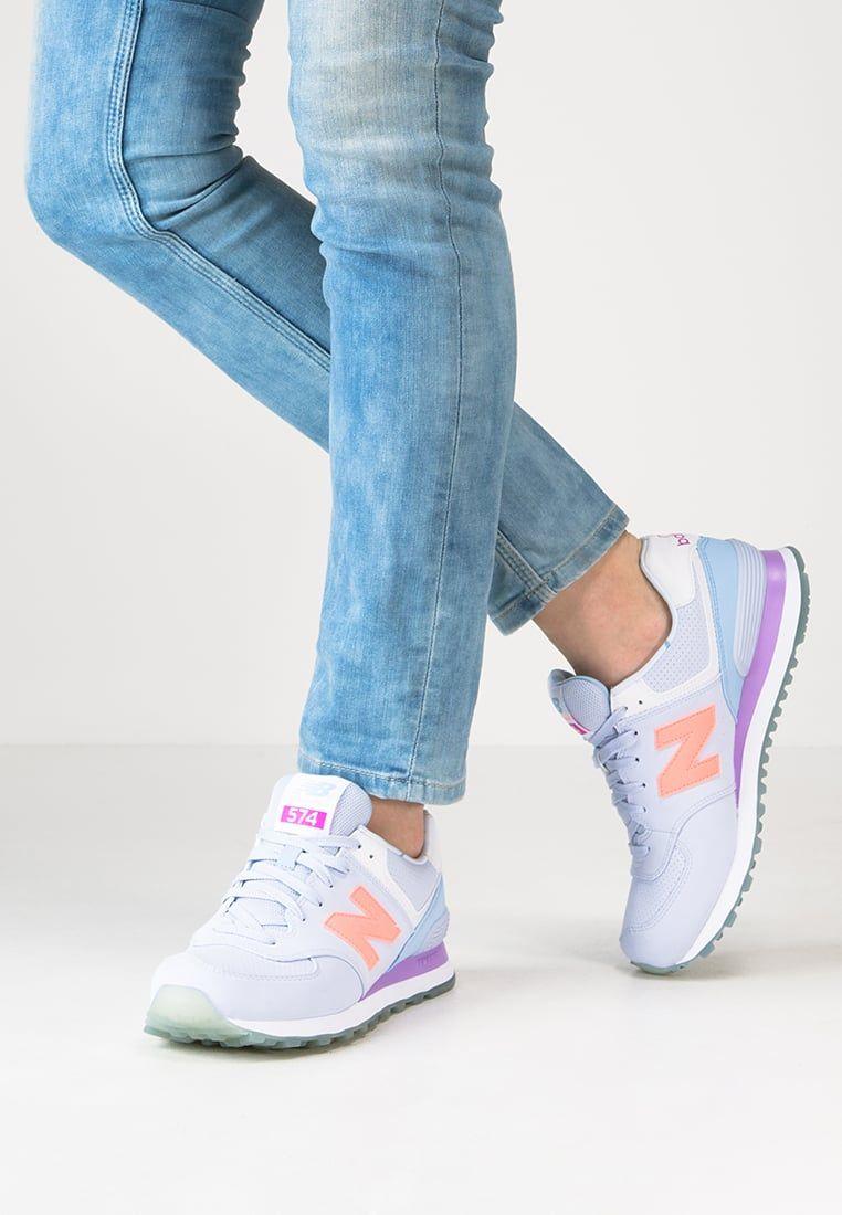 New Balance Wl574 Tenisowki I Trampki Mirage Twilight Purple Zalando Pl Sneakers Fashion Womens Sneakers Concept Sneakers