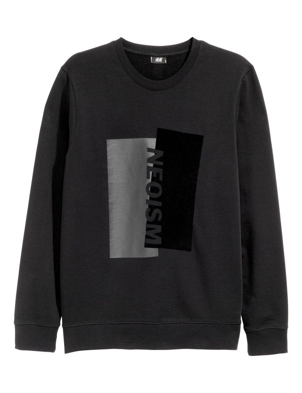 Kolla in det här! En långärmad tröja i sweatshirtkvalitet med tryck ... bb17e9c41ab11