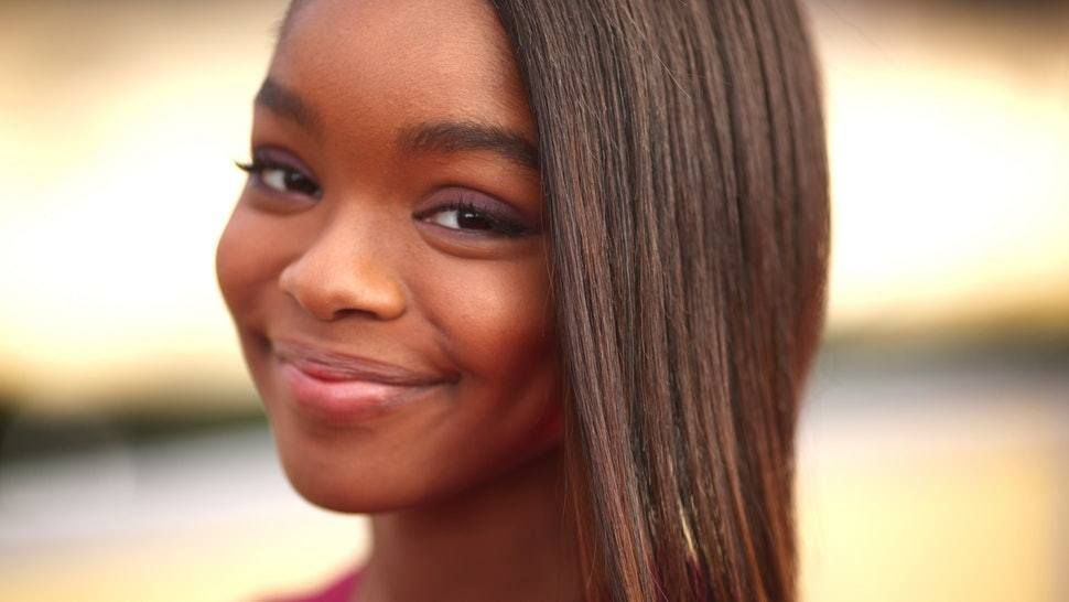 Black Ish Star Marsai Martin Becomes Youngest Person To