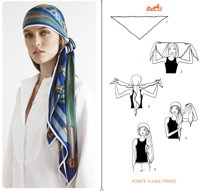 1730af37c37 Formas de usar lenços na cabeça Mais