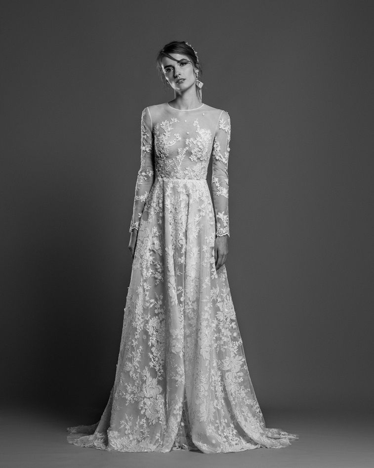 391a4bcd6f8 Georges Hobeika Spring Summer 2019 Bridal Collection - Fabmood ...