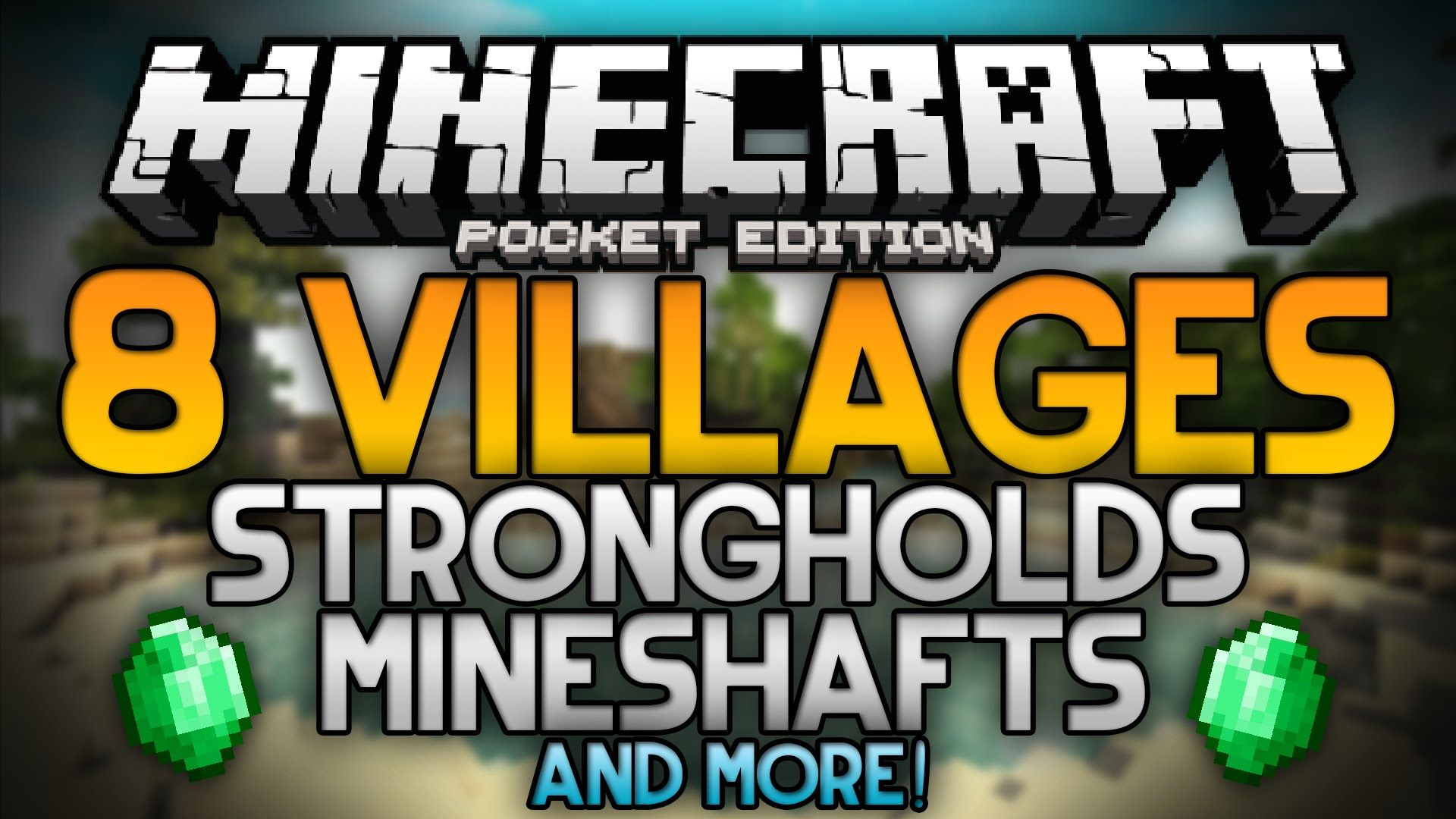 The Best Seed For Minecraft Pocket Edition 8 Villages