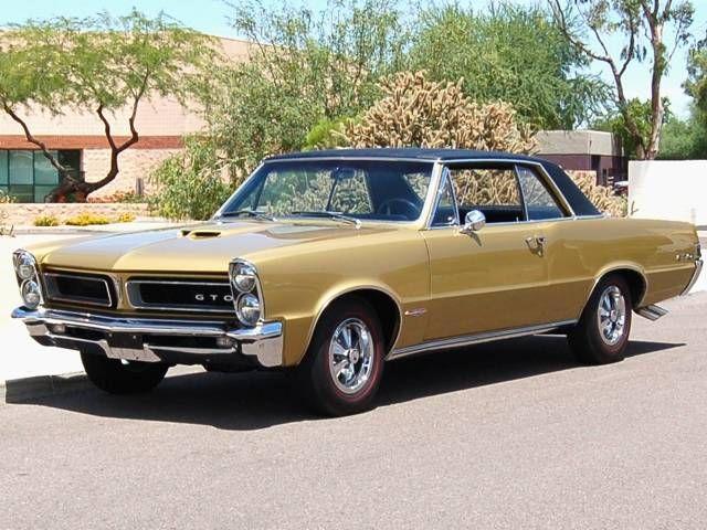 1965 Pontiac Gto Tiger Gold Pontiac Gto For Sale 1965 Pontiac
