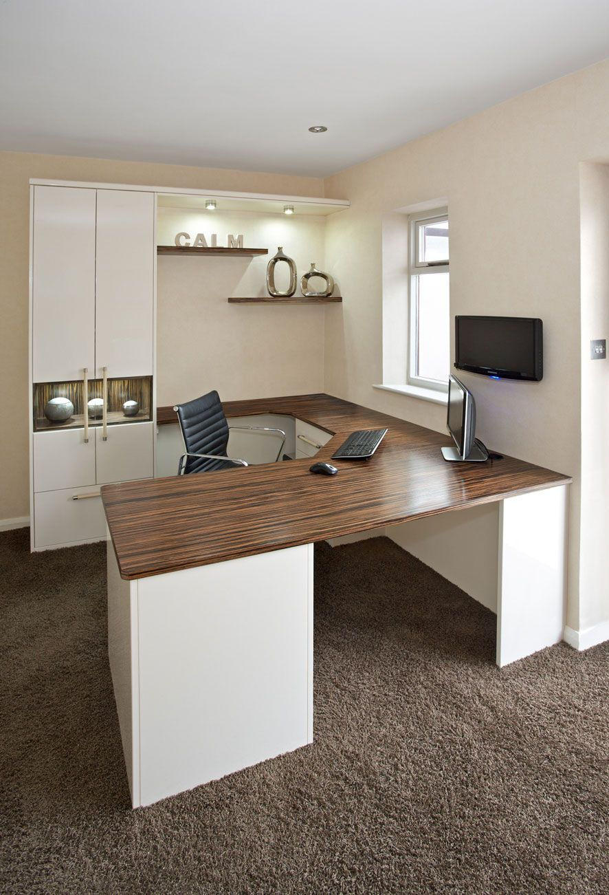 At The Wood Works We Design Bespoke Home Study Furniture For Creating A  Fully Functioning Office In The Luxury Of Your Own Home.