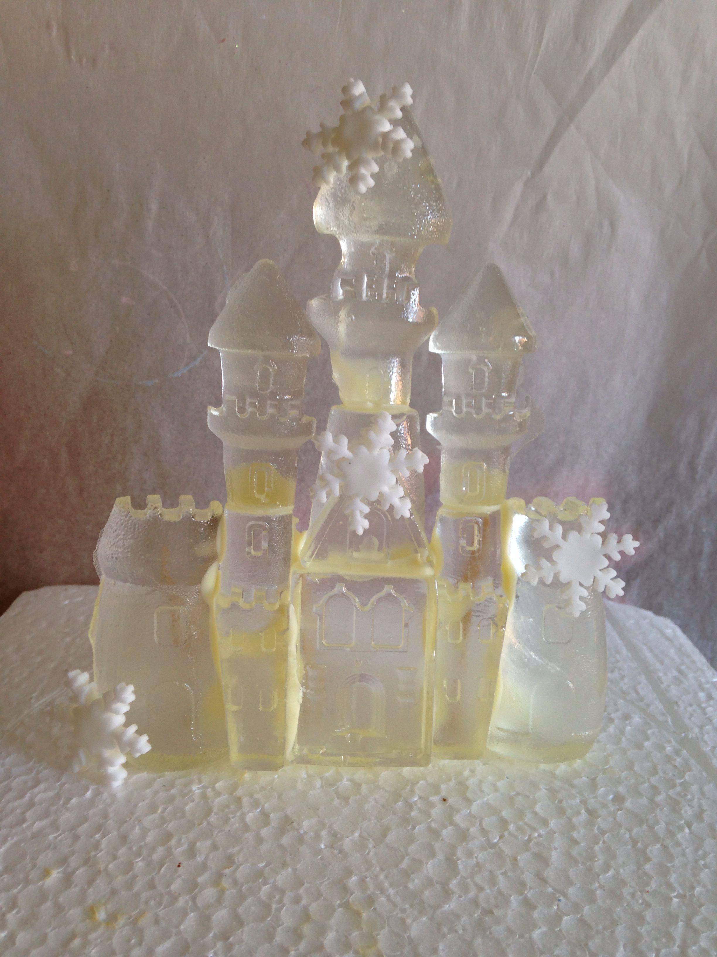 Frozen Castle Cake Topper Frozen Castle Cake Edible Cups Frozen Castle