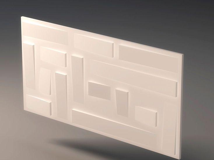 panel de pared d de yeso para interiores falde coleccin d panels by profilgessi diseo roberto