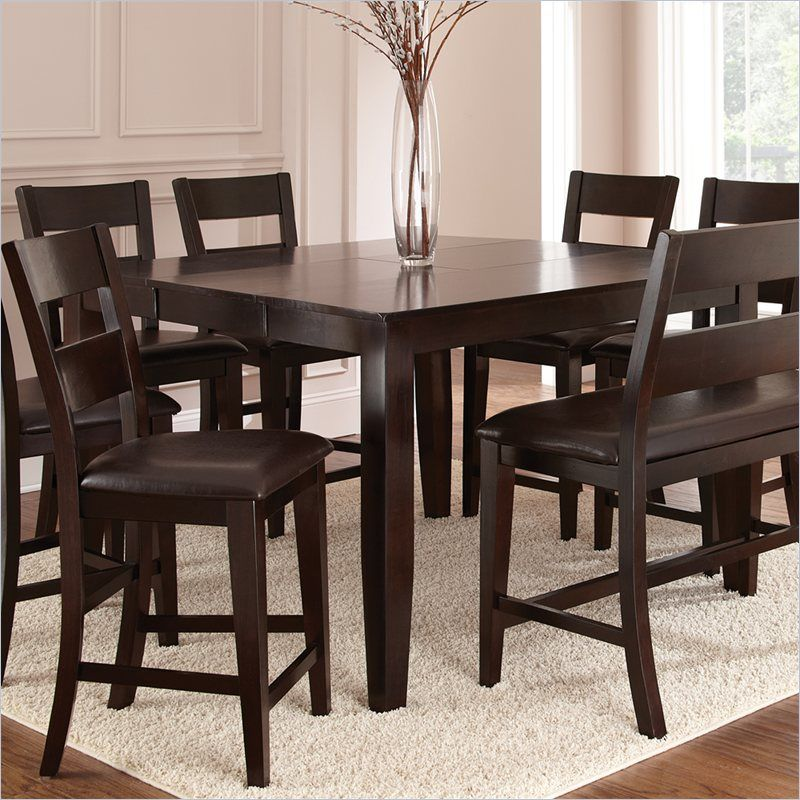 Steve Silver Company Victoria Counter Height Dining Table With