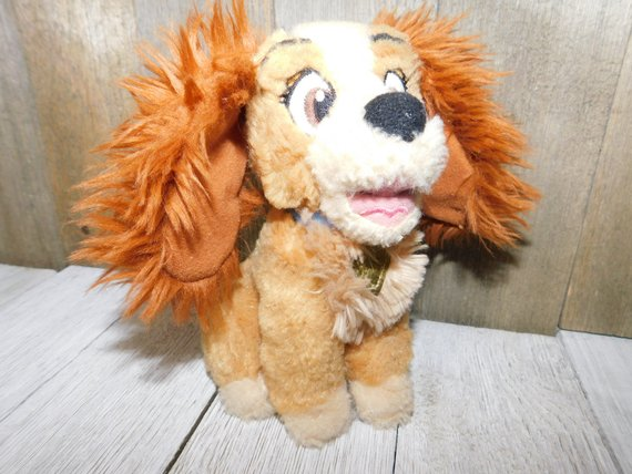 Sweet Disney Lady Dog Disney Toys Vintage Stuffed Animals