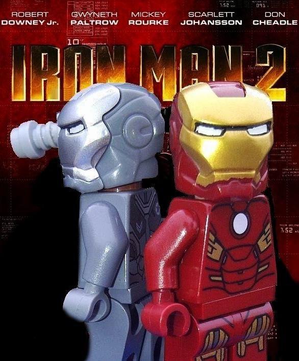 Lego Iron Man 2 Poster