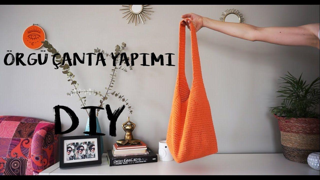 5tl Ye Orgu Canta Yapimi Crochet Bag Youtube Canta Orgu Parmaksiz Eldivenler