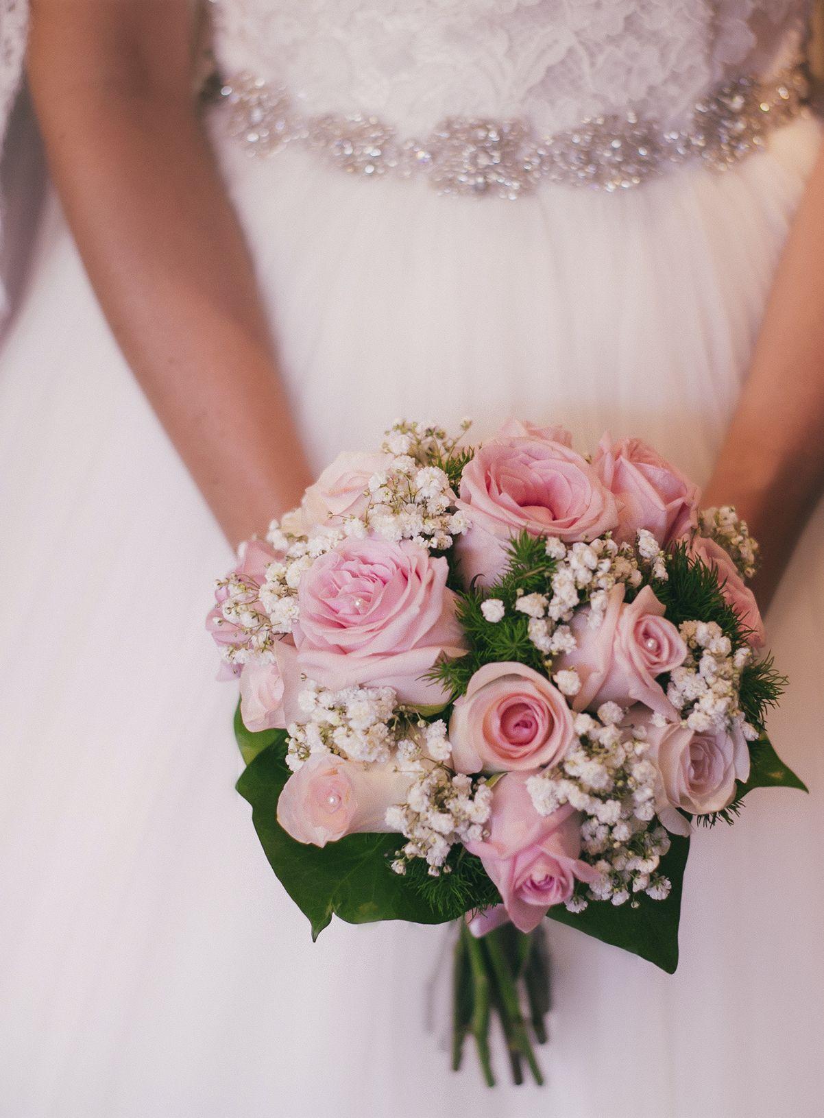 Ramo de novia rosa | Proyectos que debo intentar | Pinterest | De ...