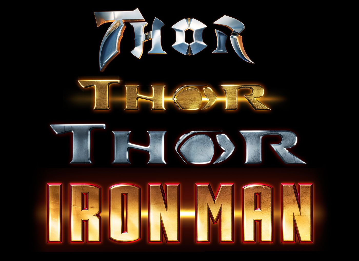 Thor and Iron Man on Behance