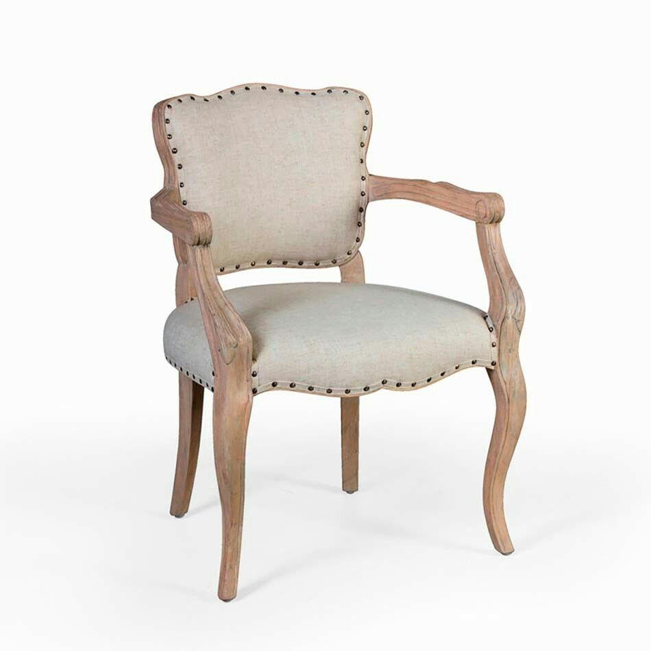 Silla vintage tachuelas madera natural muebles al natural muebles madera natural y madera - Muebles al natural ...