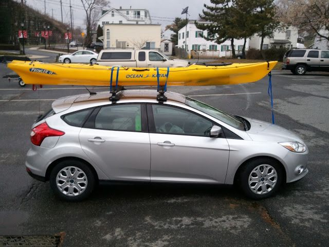 Kayak On Roof >> Kayak Rack - Focus Fanatics | Roof Racks for Ford Focus 2012 | Pinterest | Kayak rack, Ford ...