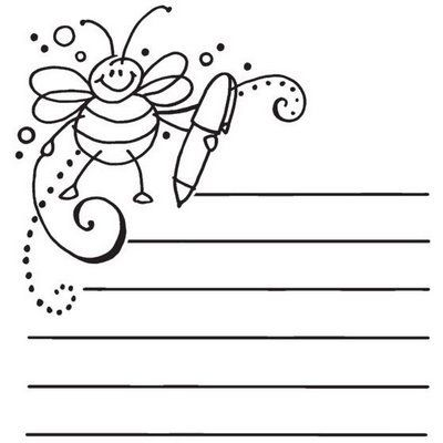 Dibujos y Plantillas para imprimir: Abejas | abelles | Pinterest ...