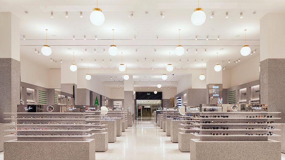 Selfridges Eyewear Destination Selfridges London Design Consultant Eyewear Shop