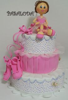 Bailarina en tarta